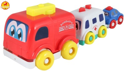 BAYBEE Stack N Tow Rescue Team Toy