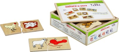 Eduedge Let,S Find N Match - Animals N Use