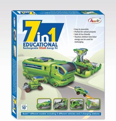 Smiles Creation 7 - in - 1 Educational Rechareable Solar E Kit
