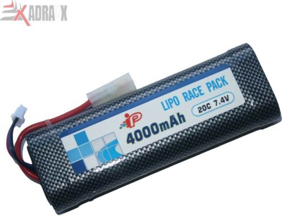 Adraxx Li po Battery(Cars) 7.4v/4000 MAh/15C