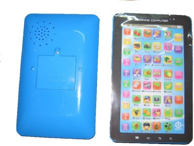 99DOTCOM P1000 Kids Educational Learning Tablet Computer Blue and black