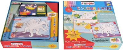 Indigo Creatives Kids Hobby Educational Game - Colour & Wipe
