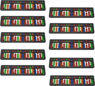 Djuize 17 Rod Multicolor Abacus Type-02 Set of 10