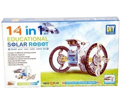 Ekta 14 in 1 Educational Solar Robot