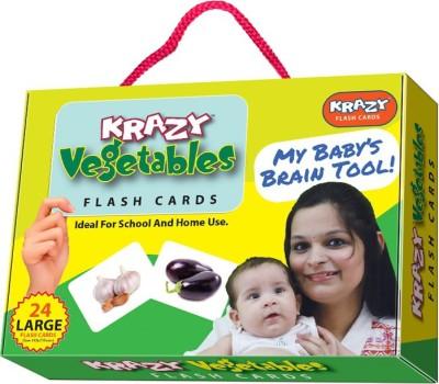 Krazy Vegetables Flash Cards