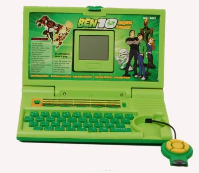 TRD Store Ben 10 English learner laptop for Kids(Green)