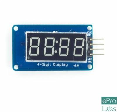 ePro Labs 4 Digit TM1637 Clock Display Module