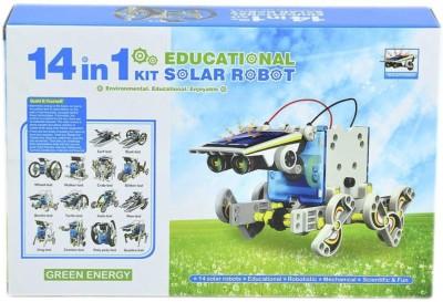 Emob 14 in 1 Educational Solar Robot Kit