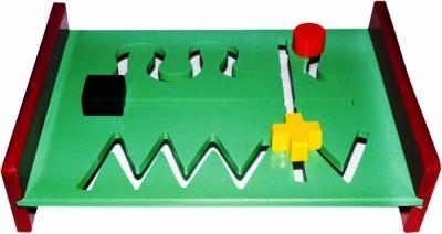 Kinder Creative Pattern Play Zig-zag Shapes Board