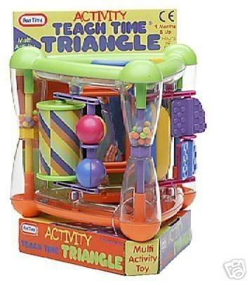 Fun Time Toys Activity Teach Time Triangle