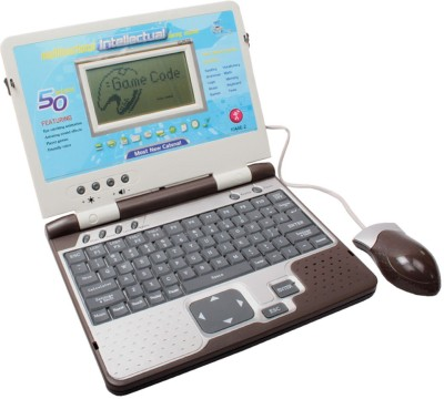 SJ 50 ACTIVITIES English Learner Kids Educational Laptop Toy
