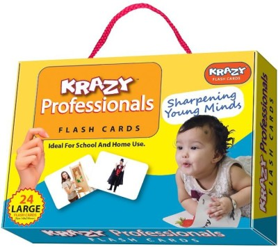 Mind Wealth Krazy Professionals Flash Cards