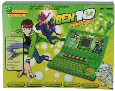 Dreamerdeal Ben10 English Learner Kids Laptop(Green)