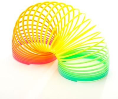 Stylezit Plastic Rainbow Slinky Plastic magic spring