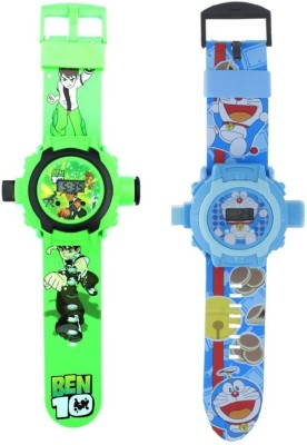 New Pinch combo of green & blue Projector Watch-24 Images