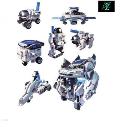 Montez 7 in 1 Educational Solar Space Fleet Game