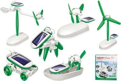 Gift World 6 in 1 Solar Robot Kit Toy