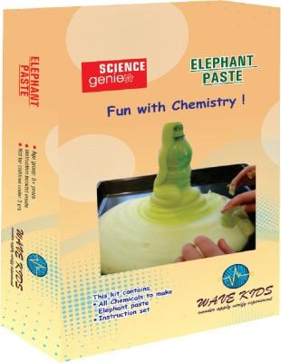 Wavekids Elephant Paste - Do It Yourself Science Kit