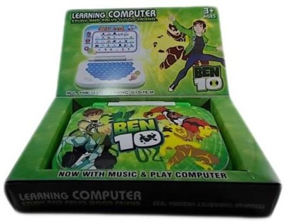 Shop & Shoppee Ben10 Mini English Leaning Laptop Toy