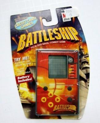 Milton Bradley Battleship: Palm-Size Naval Combat Game (Electronic)