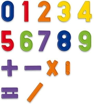 Mayatra's Magnetic Numbers(Multicolor)