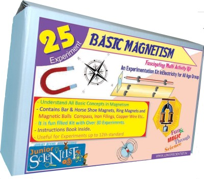 Junior Scientist Basic Magnetism (25 Activity)