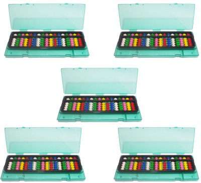 Djuize 17 Rod Multicolor Abacus&Box Set Of 5