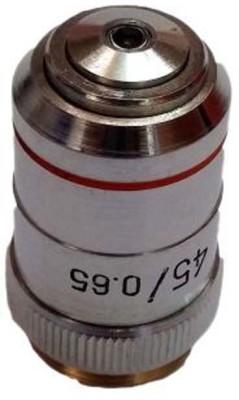 Labpro Objective 45x Brass Chrome Plated, High Performanc