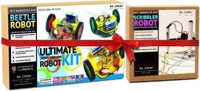 Be Cre8v Robotics DIY Learning Toy Combo Pack