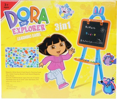 Buds N Blossoms 3 in 1 Creative Drawing Magnetic Board Easel