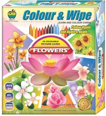 Lotus Applefun Colour & Wipe Flowers