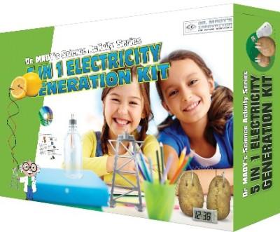 Matrix Educare Pvt. Ltd 5 In 1 Electricity Generation Kit