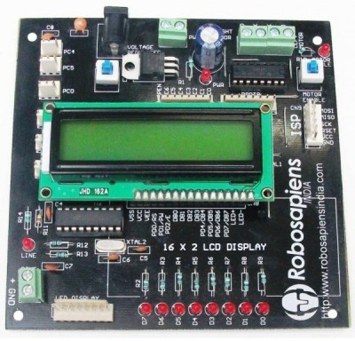 Robomart Atmega8 Ic Development Board V1.0