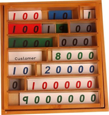 Kidken Montessori Bank Game