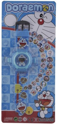 ToysBuggy New Doraemon 24 Images Projector Watch