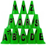 Sahni Sports Alphabet Marker Cones A-Z (...