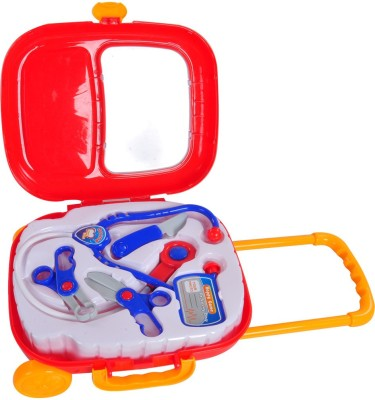 Venus-Planet of Toys Baby Storage Box Doctor Trolley Set