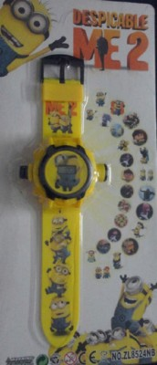 ToysBuggy Despicable Me Minions Projector Watch