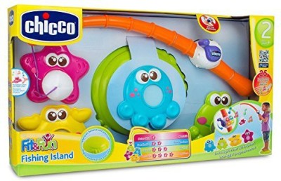 Chicco Chicco Fit & Fun Fishing Island Playset(Multicolor)