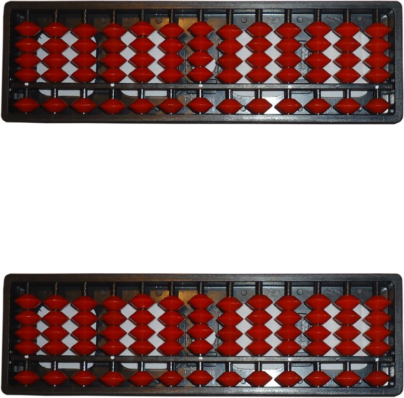 Sae Fashions Red 13 Rod Abacus Kit Set Of 2(Red)