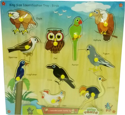 Skillofun King Size Identification Tray Birds