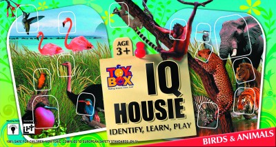 Toysbox IQ Housie - Birds & Animals