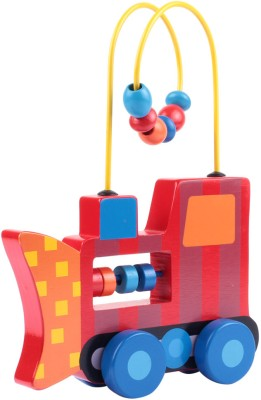 Stephen Joseph Inc Rolling Wire and Bead Toy - Construction