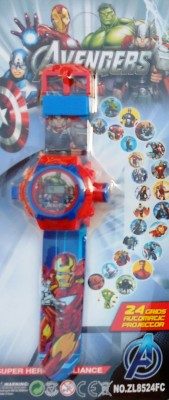 Jaibros Avengers 24 images Projector Watch