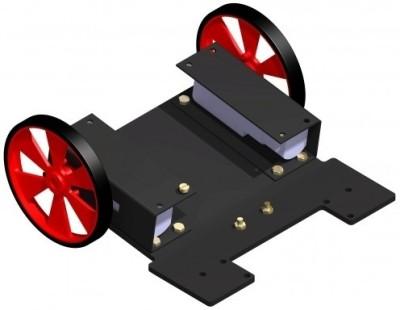Robosoft Systems Two Wheel Drive Platform