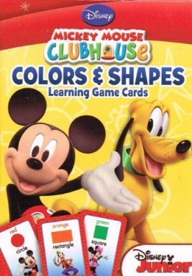 Disney Mickey Mouse Clubhouse Flash Cards (Set of 2 Decks)