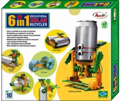 Lotus Annie 6 in1 Educational Solar Recycler