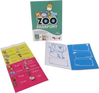 Cocomoco Kids Zoo Passport Kit
