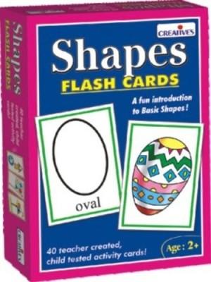 Creative Education Shapes - Flash Cards