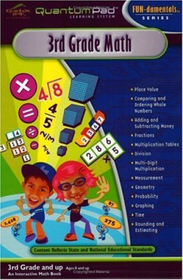 LeapPad Quantum Pad Learning System: Third Grade Math Interactive Book and Cartridge